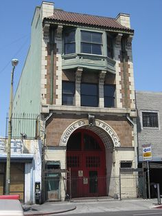 Los Angeles Landmarks, No. 37 - Fire Station No. 23