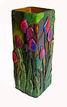 AS A BEAD a Mused Studio: Red Tulips