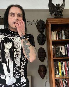 Dani Filth, Cradle Of Filth, Metal Art, Black Metal, Music, Rocker Chick, Long Hair, Dibujo, Musica