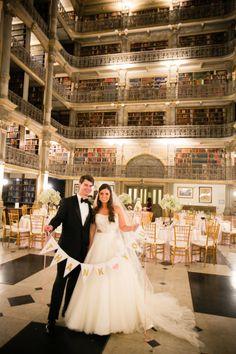 Baltimore George Peabody Library Wedding