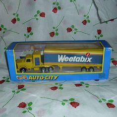 Weetabix Diecast Vehicle Corgi Model Articulated Lorry
