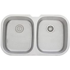 $184.99  Ticor Stainless Steel 16-gauge Undermount Kitchen Sink