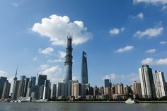 'Size doesn't matter', says architect of Shanghai Tower - Telegraph Shanghai Tower, Shanghai City, Burj Khalifa, Cn Tower, In The Heights, New York Skyline, Skyscraper, Asia, Building
