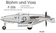 Blohm und Voss P-208 https://www.pinterest.com/docaviation/blohm-und-voss/
