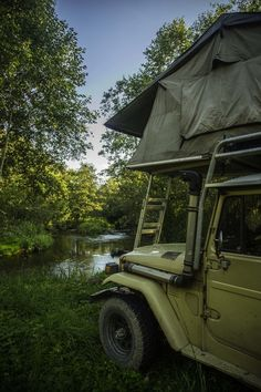 Overlanding with Toyota Land Cruiser HJ47 in Badmakiai, Lithuania