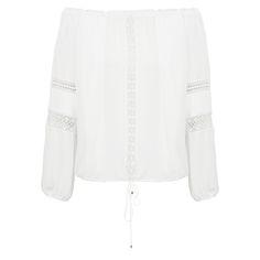 LE LIS BLANC - Blusa ombro a ombro Le Lis Blanc Mariana - off white - OQVestir