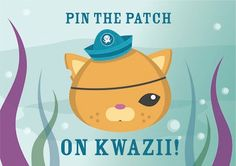 The Octonauts Printable Pin the Patch on Kwazii Game by jlaidlaw, $5.00 @Beth Burgeson OMG!