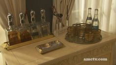 I'm on a never ending hunt for a cocktail set like this one from Mad Men