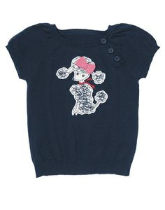 Pretty Poodle Sweater Top from Crazy8 on Catalog Spree, my personal digital mall.