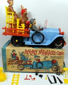Vintage Beverly Hillbillies Car toy, 1960's.