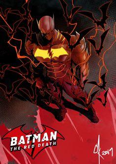-On Earth Batman used to be the hero of Gotham City who fought crime with his Robins. Batman Metal, Batman Dark, Batman The Dark Knight, Batman And Superman, Batman Robin, Batman Artwork, Batman Comic Art, Batman Wallpaper, Flash Comics
