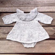 Agnes' kjolebody | Knitting for Olive