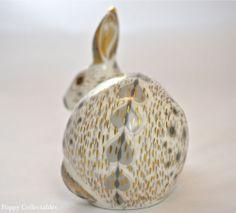 Royal Crown Derby Paperweight OLD English Grey Rabbit Dusky Grey 1st Quality   eBay