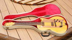 Kay Vintage Model 1982B Thinline Electric Guitar