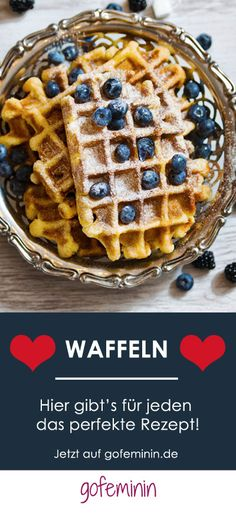 Knusprig, süß, einfach göttlich: Ein Waffel-Rezept für jeden Geschmack!