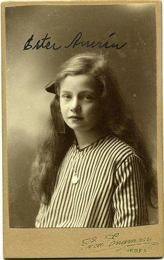 CDV Portrait of a young girl - Sweden - c.1905 by Patrick Bradley 70, via Flickr