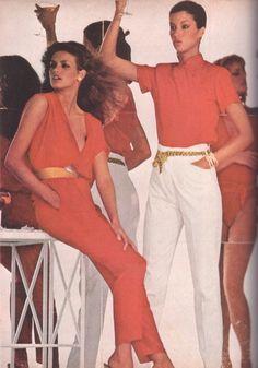 Gia & Janice Dickinson 1979 Vogue