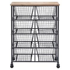 Brion Storage Cart » Great for holding fabric.
