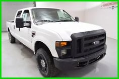Ford : F-250 XL 4×4 6.4 L V8 Crew Cab Long Bed Truck 1 Owner!! FINANCE AVAILABLE! 148k Mi Used 2008 Ford F250 XL 4WD Vinyl Ball in Bed Bedliner Diesel Trucks, Diesel Cars, Diesel Vehicles, Tattoo Ideas, Finance, Ford, Economics