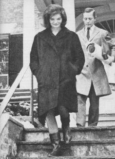 Jacqueline Kennedy Onassis with Billy Baldwin