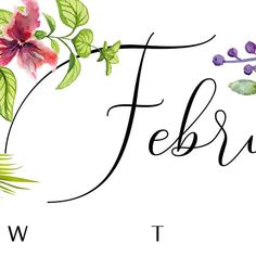 Another sneak-peak of one of our floral calendars that will be available via pre-order (only going to be available for a short time) in November. Purpose, Calendar, November, Paper, Floral, Decor, November Born, Decoration, Florals
