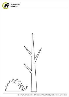 Podzimní tvoření – pracovní list aneb strom s listím a domeček pro ježka – blog.Pieris.cz Worksheets, Blog, Home Decor, Decoration Home, Room Decor, Blogging, Literacy Centers, Home Interior Design, Countertops