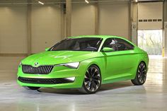 Skoda Vision C Concept, I kind of like it and don't at the same time.
