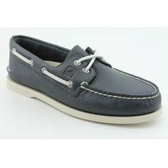 Sperry Top Sider Men's A/O 2-eye, Navy Casual Shoes