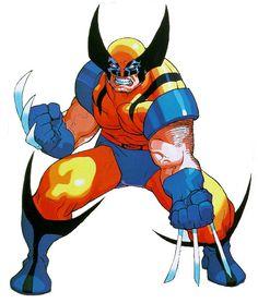 Wolverine - X-men Vs Street Fighter