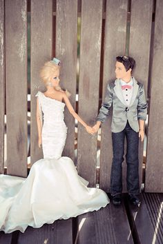 A moment for Barbie and Ken before all the craziness