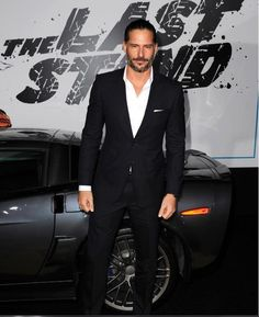 Joe Manganiello .. what a hot hunk of man