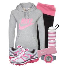 Comfy cute workout attire, workout wear, athletic outfits, athletic wear, a Sporty Outfits, Athletic Outfits, Athletic Wear, Cute Outfits, Sporty Clothes, Gym Outfits, Comfy Clothes, Athletic Shoes, Fashion Outfits