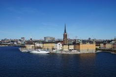 **Monteliusvagen (walkway with a great view of the city) - Stockholm, Sweden