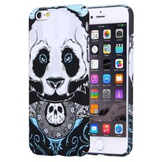 [$2.55] For iPhone 6 & 6s Water Decals Cartoon Animal Panda Pattern PC Protective Case