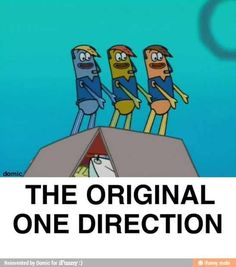 Every thing started on spongebob...