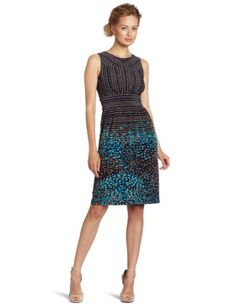 Anne Klein Women's Confetti Print Sheath Dress $98.93 #bestseller