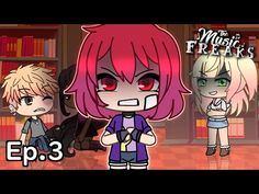 The Music Freaks Ep.3 | Pink-Haired Devil | Gacha Life Musical Series - YouTube Cute Pokemon Pictures, Cute Pokemon Wallpaper, Voice Acting, Anime Kiss, Life Video, Schools First, Big Guns, Cool Animations, Youtube