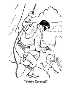 The Lone Ranger Coloring Pages - free | Who was that masked man ...