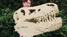 So This Is What Inspires Someone to Build a Life-Size LEGO T-Rex