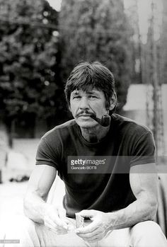 American actor Charles Bronson in the United states, circa 1960 .