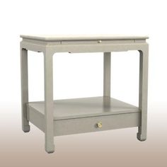 Hickory chair nightstands