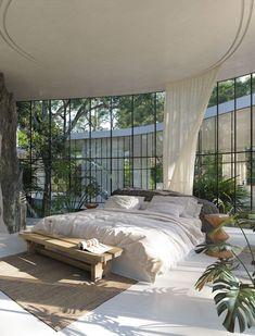 Dream Home Design, My Dream Home, Home Interior Design, Dream Apartment, Aesthetic Bedroom, Dream Rooms, Home Bedroom, Bedroom Ideas, Bedrooms