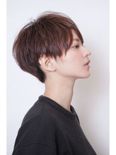 Trendy Ideas For HairStyles フレンチショート Discovred by : otter kana Short Hairstyles For Women, Pretty Hairstyles, Girl Hairstyles, Very Short Hair, Short Hair Cuts, Love Hair, Gorgeous Hair, Shot Hair Styles, Corte Y Color