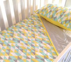 alphabet cot sheet Nursery bedding and linen from Etsy   our top picks!