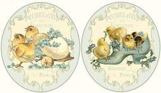 JanetK.Design Free digital vintage stuff: Paaslabeltjes