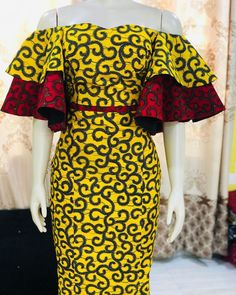Latest Trendy Ankara Gown Styles for Ladies African Fashion Ankara, Latest African Fashion Dresses, African Print Fashion, African Print Dress Designs, Short African Dresses, Ankara Dress Styles, Ankara Styles For Women, African Traditional Dresses, African Attire