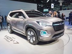 Subaru Viziv-7 Concept: New midsize SUV for 2018 – Kelley Blue Book #new #midsize #suv http://cheap.nef2.com/subaru-viziv-7-concept-new-midsize-suv-for-2018-kelley-blue-book-new-midsize-suv/  # Subaru Viziv-7 Concept: New midsize SUV for 2018 Subaru took the wraps off of the Viziv-7 Concept in Los Angeles, foreshadowing a large SUV it has in the works. The latest member of its Viziv, shorthand for Vision for Innovation, approach to show vehicles, is the biggest, boldest SUV that Subaru has…