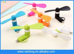 Portable High speed 2 in 1 for Android Fan Micro USB Mobile phone mini cooling fan for cellphone