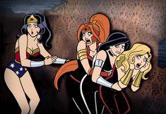Dc Comics Women, Dc Comics Superheroes, Dc Comics Characters, Dc Comics Art, Marvel Dc Comics, Anime Comics, Hq Marvel, Marvel Funny, Funny Comics