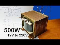 How to calculating turns and voltage of transformers for inverter to Thank You for watching my video! please kindly assist me to like share and. Electronics Mini Projects, Hobby Electronics, Electrical Projects, Electronic Engineering, Electrical Engineering, Transformer Winding, Diy Heater, Hifi Amplifier, Simple Circuit